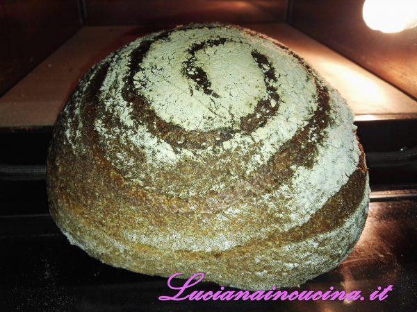 Pagnotta integrale con germe di grano