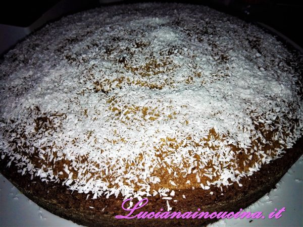 Super torta alla Nutella e cocco rapé