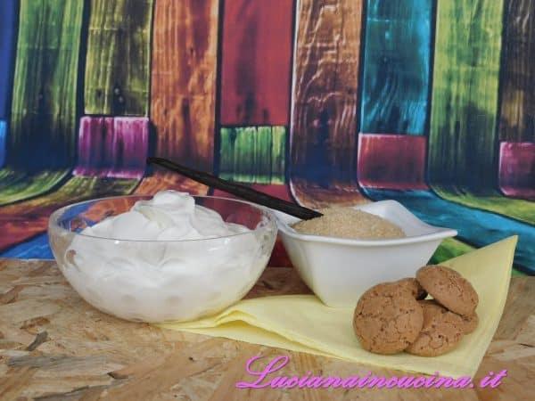 A parte preparare tutti gli ingredienti per la cremina.