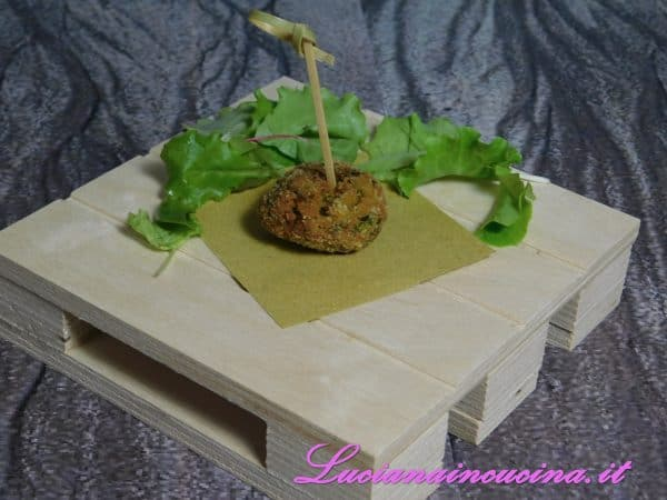 Polpettine sfiziose con le zucchine