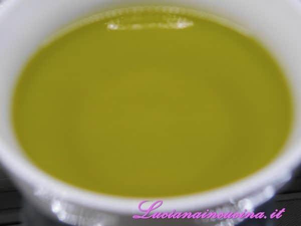 L'olio extravergine di oliva.
