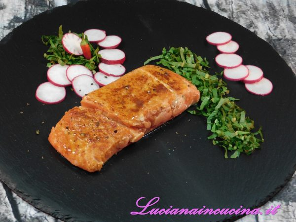 Sweet and Smoky Sous Vide Salmon
