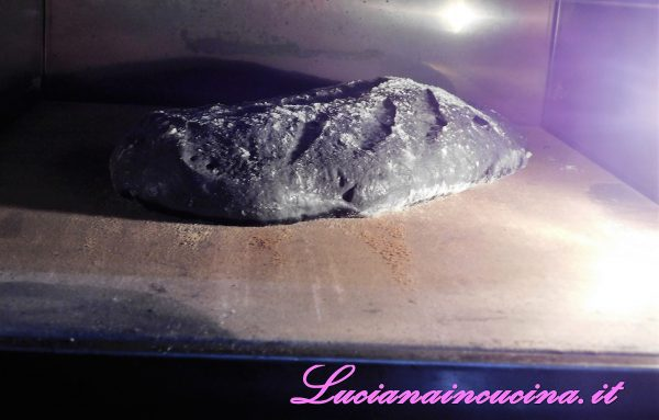 Per la cottura del pane, infornare a 250°C per circa 30 minuti. Gli ultimi 10 minuti abbassare il forno a 200°C.