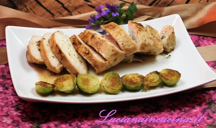 Petto di pollo cotto a bassa temperatura