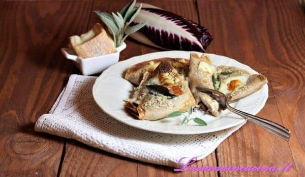 Crepes con farina di castagne