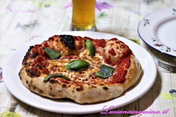 Pizza con lievito di birra