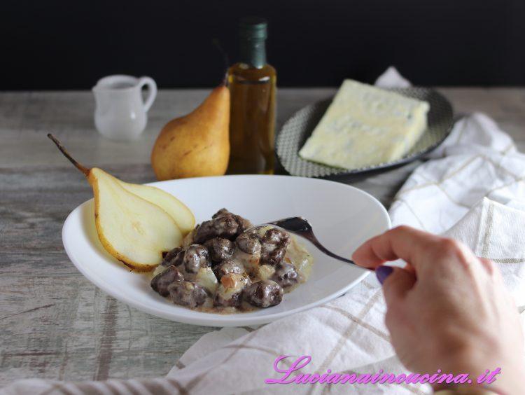 gnocchi gorgonzola e pere