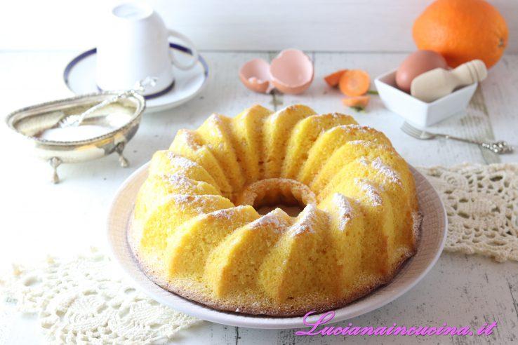 torta alla carota