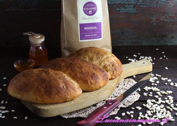 pane con farina di riso logo