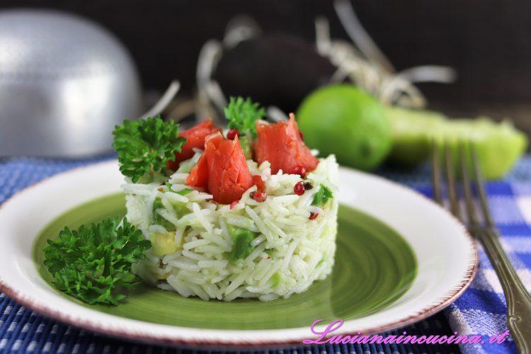 insalata di riso ricetta esotica
