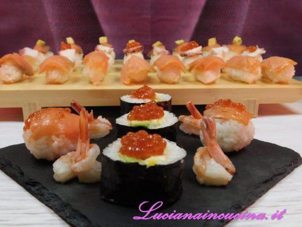 Sushi ricetta