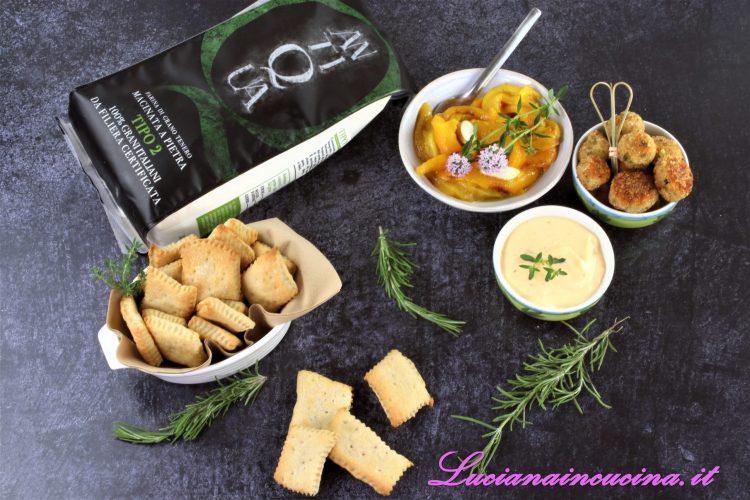Crackers a lievitazione naturale antiqua