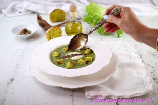 Zuppa di lattuga