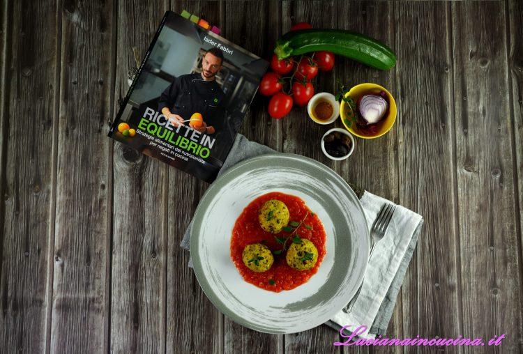 Polpette di salmone zucchine e olive iader fabbri