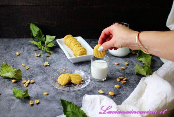 Biscotti al burro di arachidi ricetta