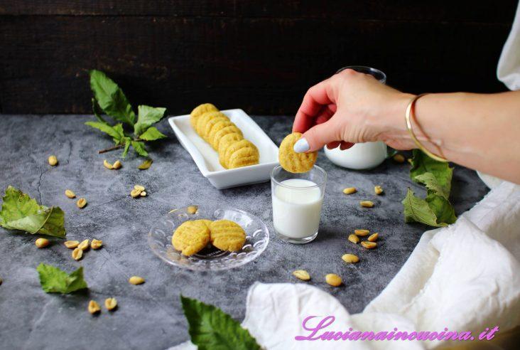 Biscotti al burro d'arachidi