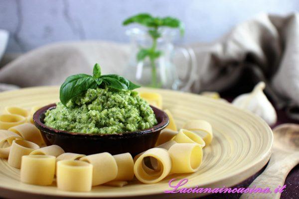 Pesto con zucchine